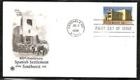 US SC #3220 Spanish Setlement Of The Southwest FDC. Postal Commemorative  Cachet
