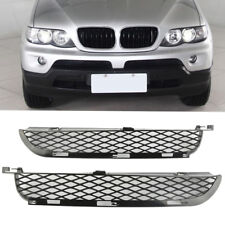 For BMW X5 E53 2003-2006 Facelift Front Grilles Upper Bumper Mesh Grill PAIR RM1
