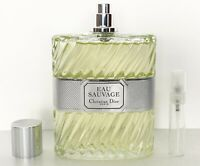 CHRISTIAN DIOR EAU SAUVAGE EDT Eau De Toilette 5ML TRAVEL SPRAY PERFUME SAMPLE