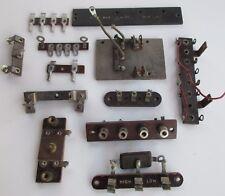 12 Terminal Fuse Strips Plates Panels Vintage Amateur Ham Tube Radio Receiver