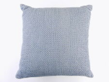 Hudson Park Beige  16 X 16 Square Decorative Pillow BLUE  D14