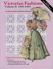 VICTORIAN FASHIONS VOL II BOOK Ladies Infant & Doll Clothing + 2 doll patterns