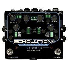 Pigtronix Echolution 2 Ultra Pro Delay Filter Pitch LFO Guitar Effect FX Pedal