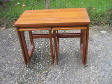 Rectangle Teak Less than 60cm Coffee Tables with Shelves