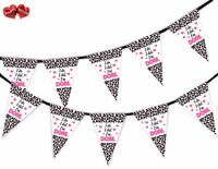 Divorce Party Bunting Banner 15 flags - I'm Done - by Party Decor