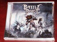 Battle Beast: S/T ST Self Titled Same CD 2014 Bonus Track Nuclear Blast USA NEW