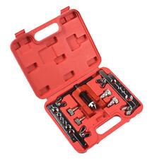 Pipe Brake Double Flaring Tool Set, 7Pcs Kit Aluminium Copper Tubing Brakes