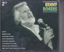 KENNY ROGERS 2 CD NUOVO SIGILLATO ELVIRA RUBY COUNTRY