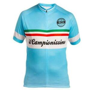 Il Campionissimo Retro Cycling Jersey cycling Short Sleeve Jersey