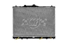 Radiator-1 Row Plastic Tank Aluminum Core CSF 2448 fits 96-04 Acura RL