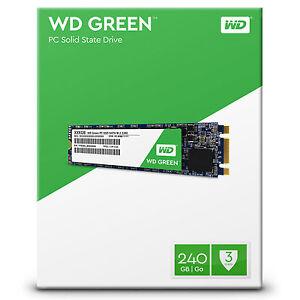 WD Green M.2 Internal SSD 120GB | 240GB Solid State Drive SATA 6Gb/s 2280 80mm
