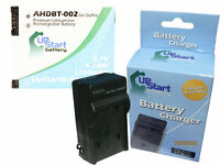 GoPro AHDBT-002, AHDBT-001 Battery + Charger Replacement, New