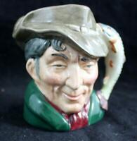 Royal Doulton CHARACTER TOBY JUG The Poacher D6464 Small A+ CONDITION no box