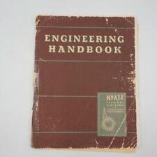 Vintage 1951 Hyatt Bearings Div Engineering Handbook General Motors Co