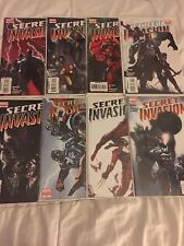 SECRET INVASION #1-8 Complete Set (2008) Marvel Comics