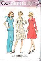 Dress Pants Sewing Pattern Simplicity 6557 SIZE 16 BUST 38 WAIST 29 HIP 40 UNCUT