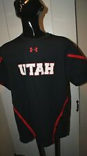 Mens Under Armour Heatgear University Utah Protect This House Black sz S PAC 12