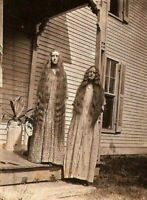 Vintage Porch Sisters Photo 183b Odd Strange & Bizarre