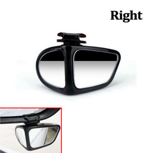 Blind Spot Mirror 360° Wide Angle Convex Rear View Mirror Fit For Car Truck SUV