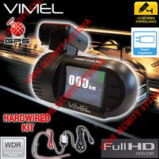 Dash Camera Truckcam GPS Hardwired Anti Theft  Parking mode Super capacitor 1080