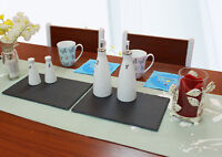 Slate Cheese Boards Placemat Table Mat Runner Serving Tray Plate Laser Engraving