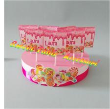 base + 20 lecca lecca compleanno party sweet table battesimo comunione nascita