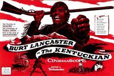 THE KENTUCKIAN pressbook, Burt Lancaster, Dianne Foster, Diana Lynn, Una Merkel