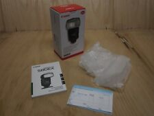 BOX and Complete Guides Cable ONLY for Canon Speedlite 580EX Speed Light