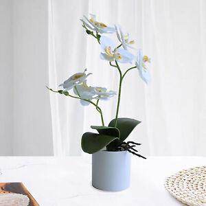 ARTIFICIAL PLANTS BONSAI POTTED FLOWER SIMULATION ORCHID HOME GARDEN DECORS