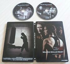 COFFRET METAL COLLECTOR 2 DVD PAL MILLION DOLLAR BABY CLINT EASTWOOD ZONE 2