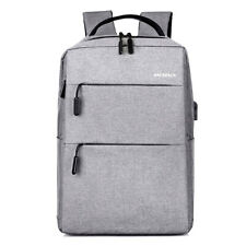 Anti-theft Men Women USB Charging Backpack Laptop Notebook Travel School Bag