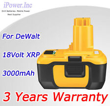 18V 3.0Ah Li-Ion Battery DC9180 for Dewalt 18 Volt XRP Cordless impact Drill