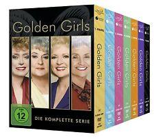 GOLDEN GIRLS - COMPLETE SEASON 1 2 3 4 5 6 7 BOXSET  -  DVD - PAL Region 2 - New