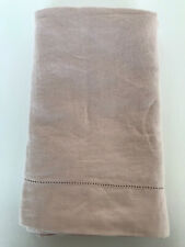 Pottery Barn Linen Shams – Set 2 (two pairs) Standard Dusty Soft Rose Pink