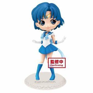 NEW! Banpresto Q Posket Sailor Moon Eternal The Movie Super Sailor Mercury Figur