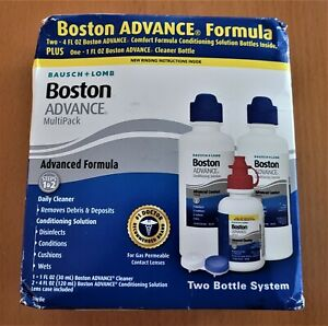 BAUSCH+LOMB BOSTON ADVANCE CONDITIONING SOLUTION MULTIPACK, 9oz
