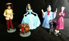 Disney Cinderella 70th Anniversary Christmas Ornament Set Prince Godmother Gus