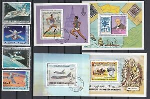 7461 Mauretanien Lot gestempelt (449)