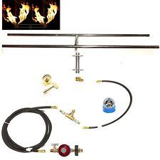 """H30CK: BASIC PROPANE DIY GAS FIRE PIT KIT & 30"""" LIFETIME WARRANTED 316 BURNER"""