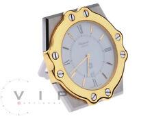 Chopard Pendulette Montre Pultuhr Réveil Horloge Réveil Desk Table Horloge Rare