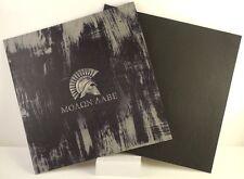 "Kydex InfusedSpartan Molon Labe Worn Painted Metal Appox 7 7/8"" x 7 7/8"" W/Blk"