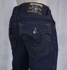 True Religion Jeans Men's Ricky Triple brown leather Overland wash M24859W50