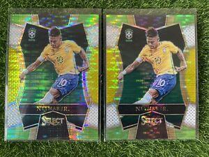 2016-17 Select Soccer NEYMAR JR. Multi Color Brazil Barcelona PSG Lot of 2