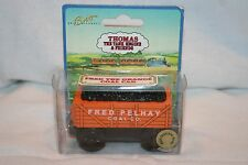 THOMAS & FRIENDS WOODEN **BNIB** 1997 VERY RARE FRED THE ORANGE COAL CAR