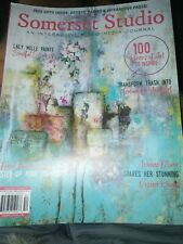 Somerset Studio Interactive Mixed Media Journal Magazine May/June/July 2020 NEW