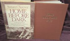 Home Before Dark ~ Susan Cheever. 1st HbDj  1984. Well written memoir   in MELB