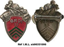 33° Groupe Reconnaissance de Division d'Infanterie, vert foncé, Déposé (6327)