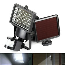 Outdoor Solar Power Motion Sensor Garden Floodlight PIR LED Security Light save