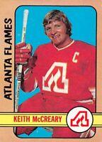 1972-73 O-Pee-Chee #25 Keith McCreary Atlanta Flames