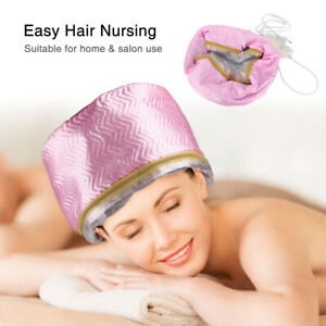 Thermal Treatment Heating Cap Adjust Heat Therapy Electric Hair Steamer Mask Cap